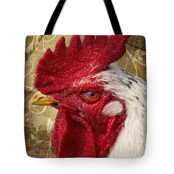 The rooster Tote Bag by Angela Doelling AD DESIGN Photo and PhotoArt