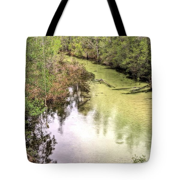 The Rope Swing Tote Bag by JC Findley
