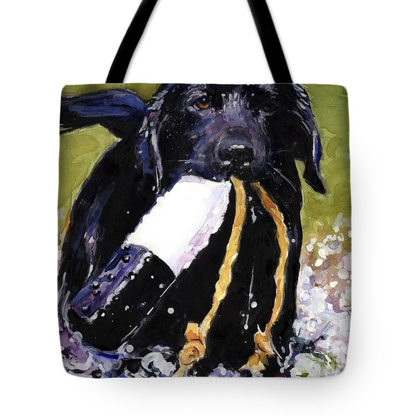 The Ropes Tote Bag by Molly Poole