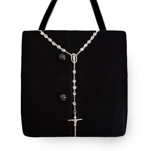 The Rosary Tote Bag by Edward Fielding