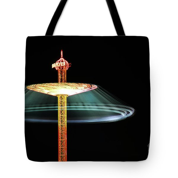 The Rotating Skirt Tote Bag by Hannes Cmarits