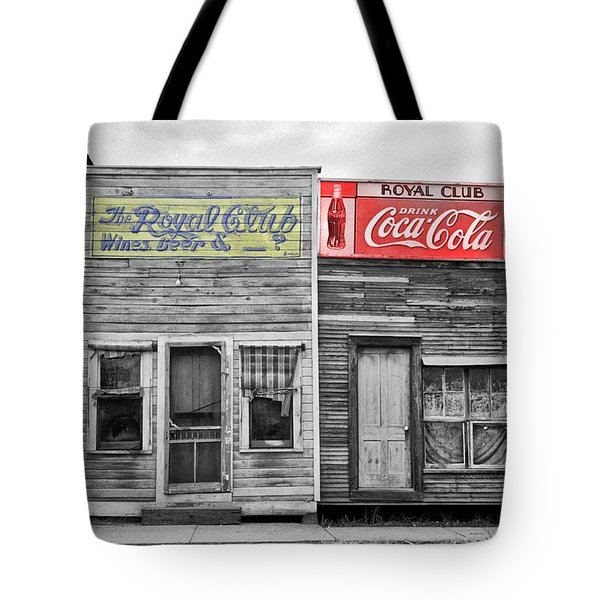 The Royal Club Tote Bag by Russell Lee