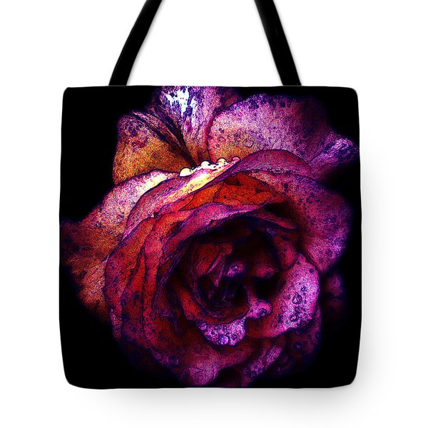 The Royal Rose Tote Bag by Stephanie Hollingsworth