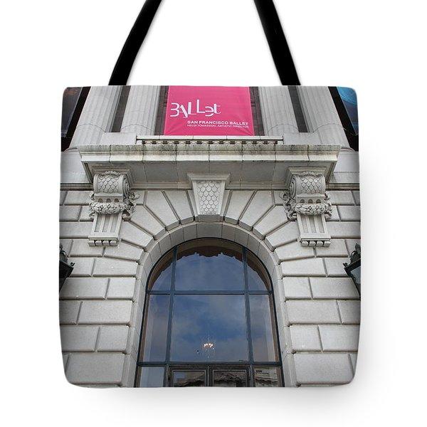 The San Francisco War Memorial Opera House - San Francisco Ballet 5d22582 Tote Bag by Wingsdomain Art and Photography