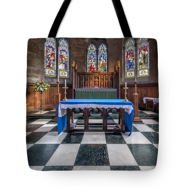The Sanctuary Tote Bag by Adrian Evans