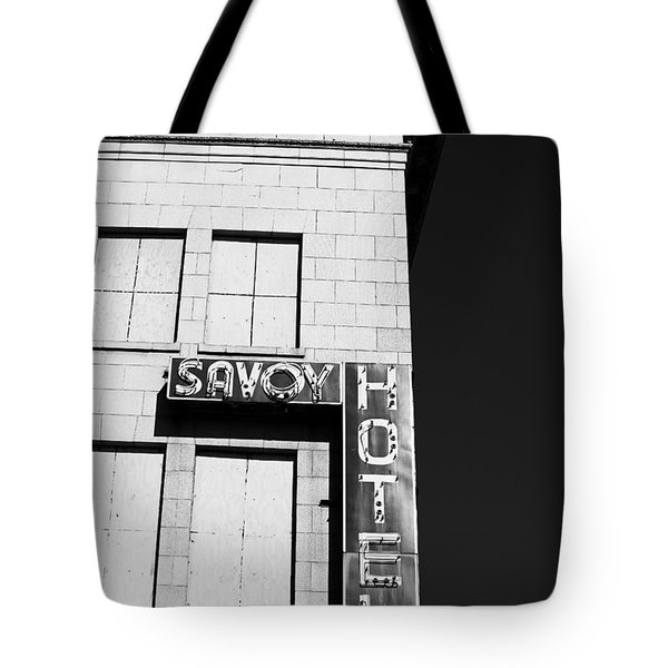 The Savoy Hotel Tote Bag by Karol Livote