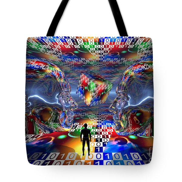 The Search For Extraterrestrial Life Tote Bag by Mark Stevenson