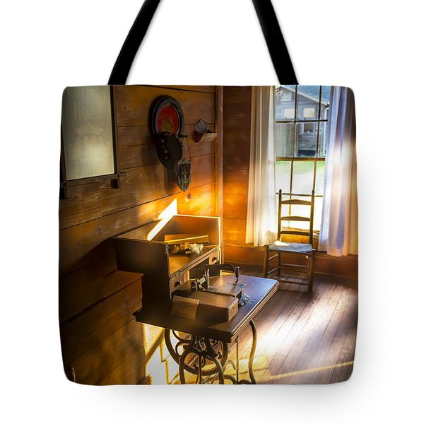 The Sewing Room Tote Bag by Marvin Spates