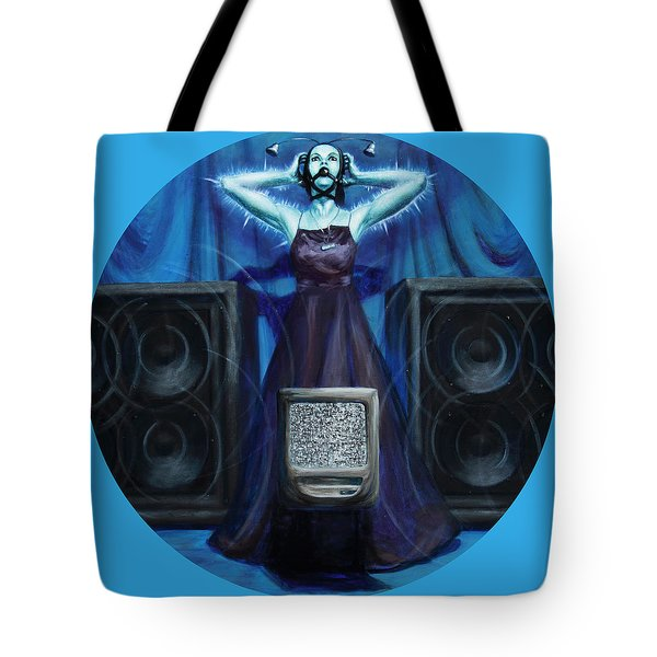 The Silenced Tote Bag by Shelley  Irish