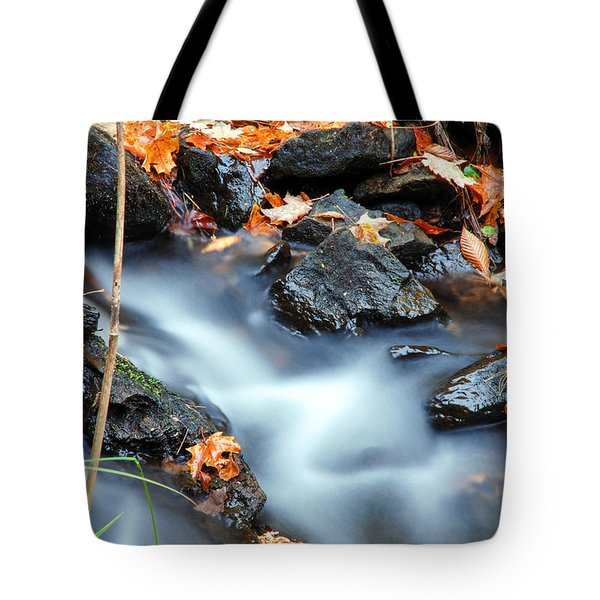 The Silvery Blue Green Velvet Effect Tote Bag by Optical Playground By MP Ray