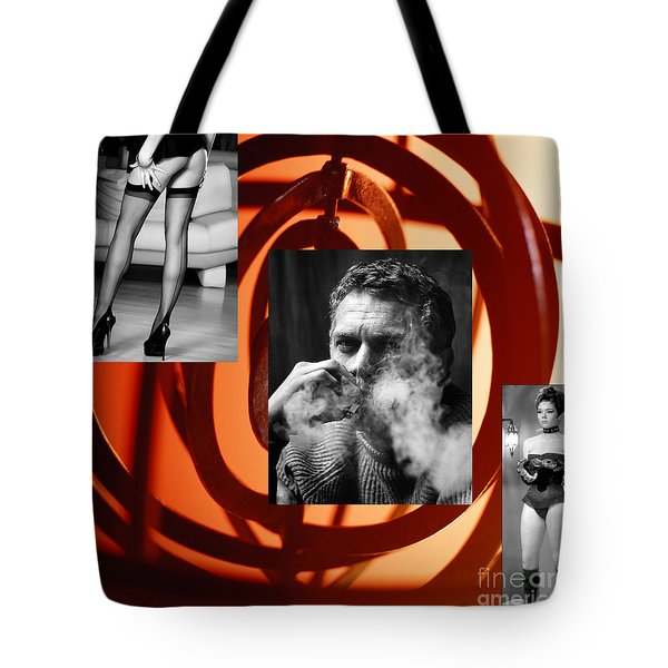 The Sixties What A Ride Tote Bag by M and L Creations