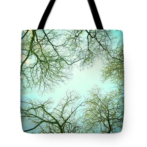The Sky Tote Bag by Guido Montanes Castillo