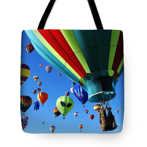 The Sky Is Full Tote Bag by Vivian Christopher