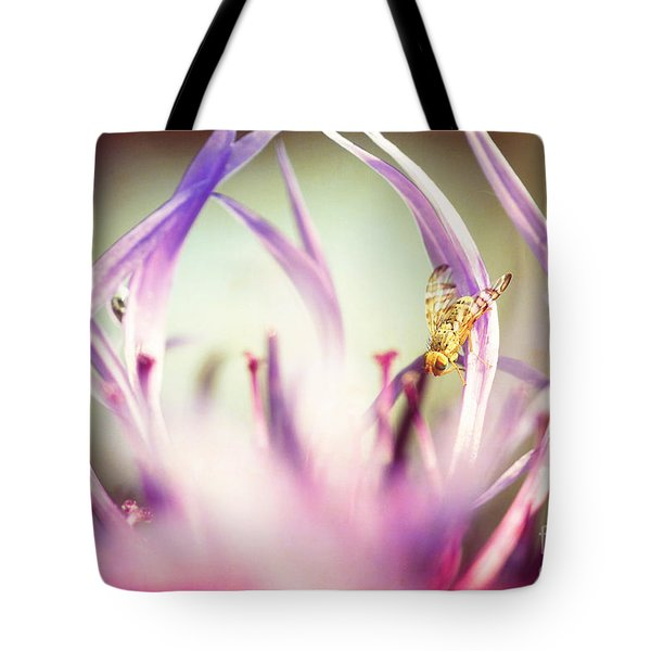 The Small Visitor Tote Bag by Hannes Cmarits
