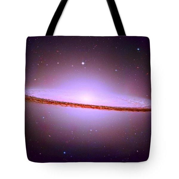The Sombrero Galaxy M104 Tote Bag by Don Hammond