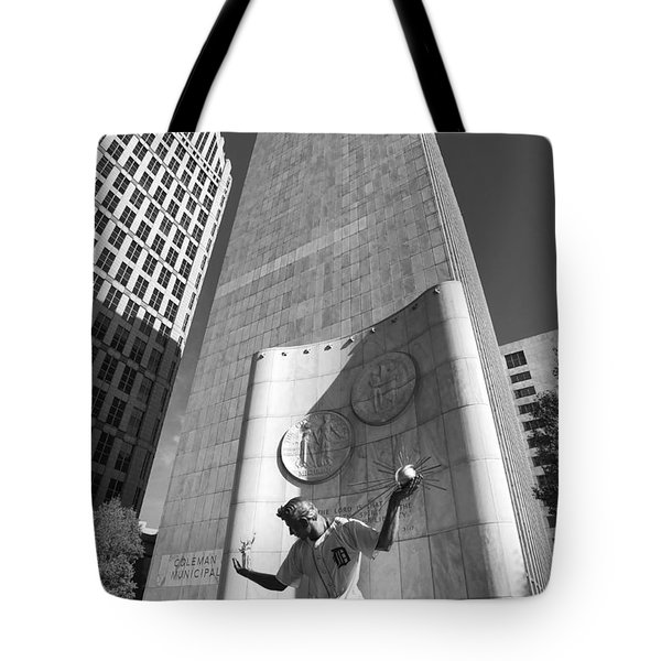 The Spirit Of Detroit Tigers 3 Tote Bag by Gordon Dean II