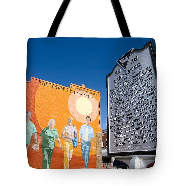 The Spirit Of Lancaster Tote Bag by Joseph C Hinson Photography