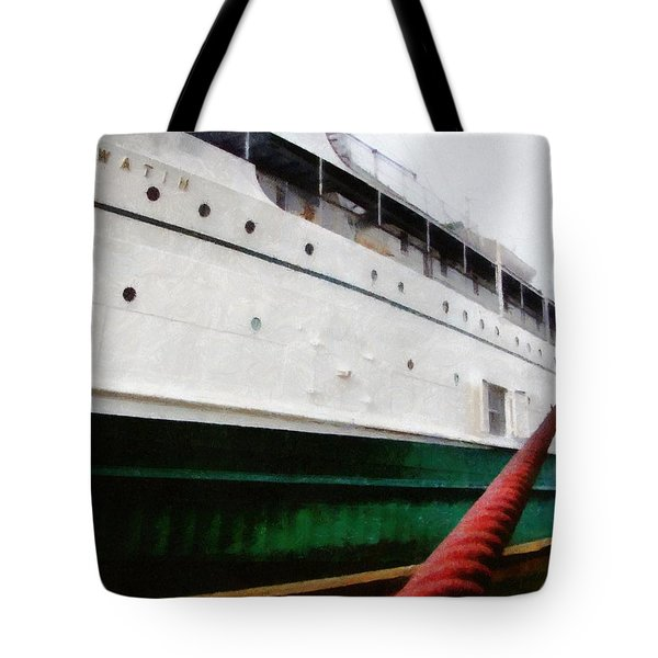 The S.S. Keewatin Tote Bag by Michelle Calkins