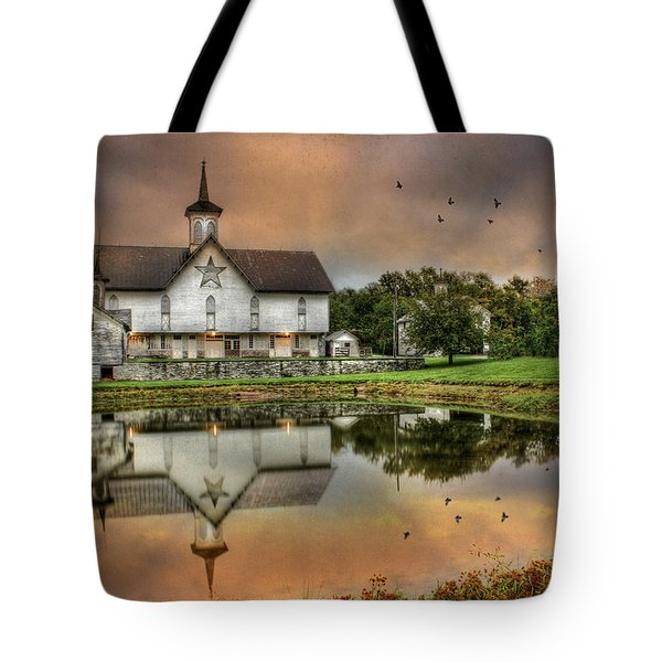 The Star Barn Tote Bag by Lori Deiter