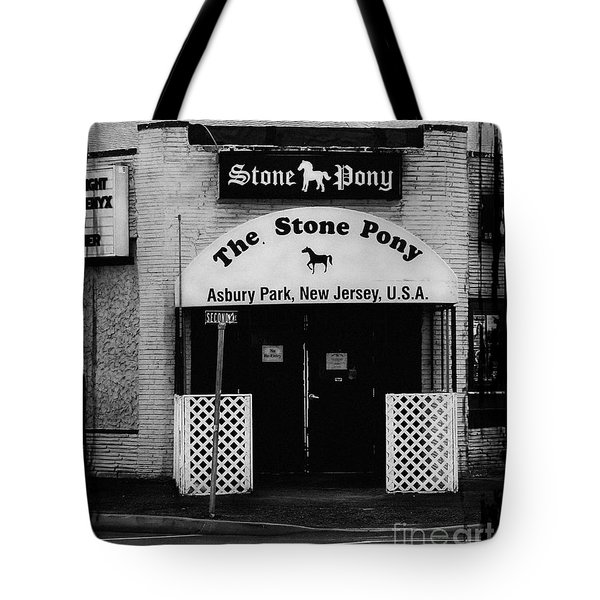 The Stone Pony Tote Bag by Colleen Kammerer