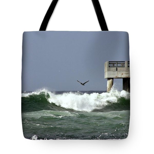 The Storm  Tote Bag by Debra Forand