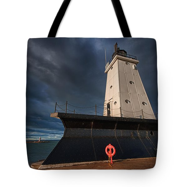 The Storm Tote Bag by Sebastian Musial