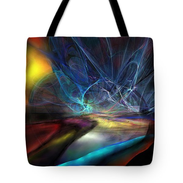 The Storm Tote Bag by Wolfgang Schweizer
