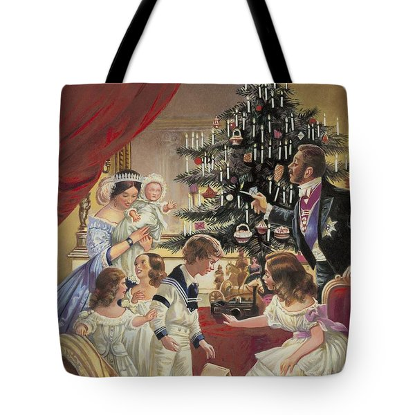 The Story Of The Christmas Tree Tote Bag by C L Doughty