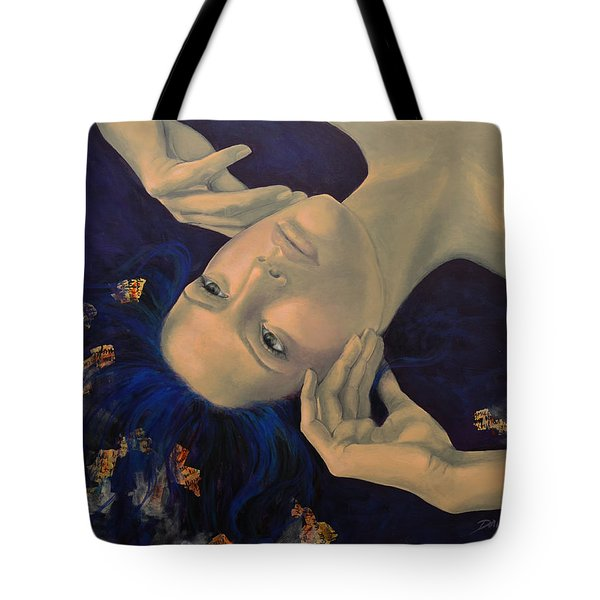 The Story of the Sixth Sense Tote Bag by Dorina  Costras