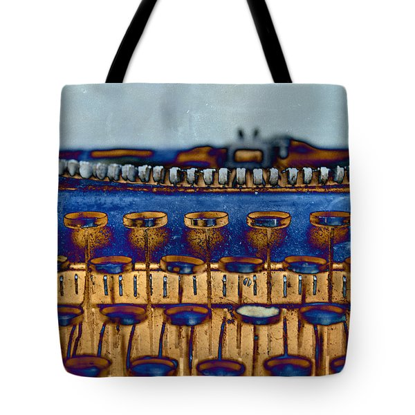 The Story Told 3 Tote Bag by Angelina Vick