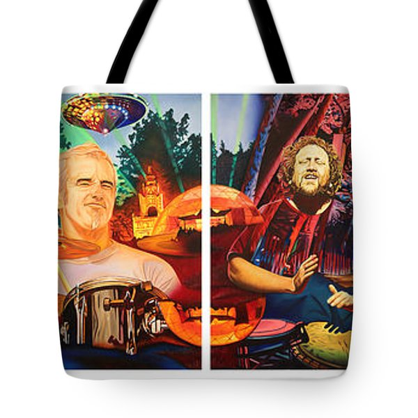 The String Cheese Incident At Horning's Hideout Tote Bag by Joshua Morton