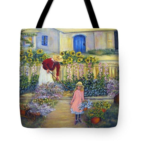 The Summer Garden Tote Bag by Loretta Luglio