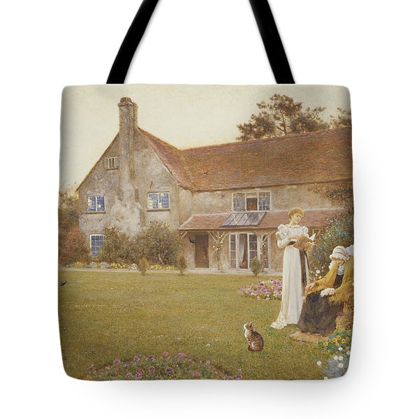 The Sundial Tote Bag by Thomas James Lloyd