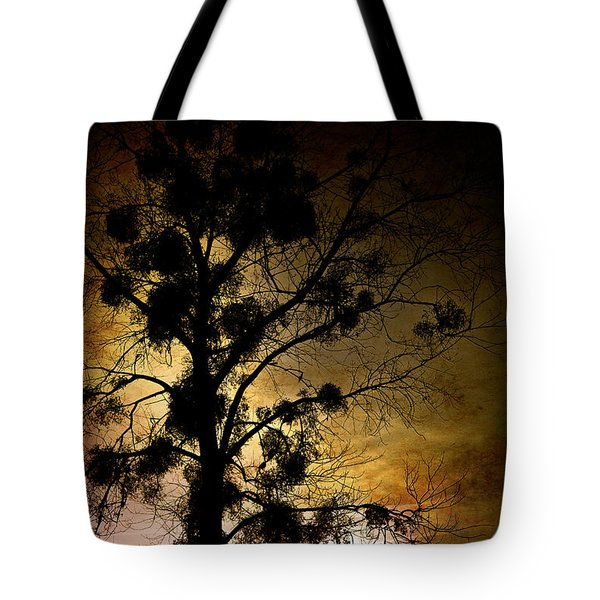 The Sunset Tree Tote Bag by Loriental Photography