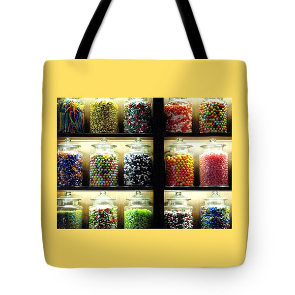 The Sweets Tote Bag by Angela Davies