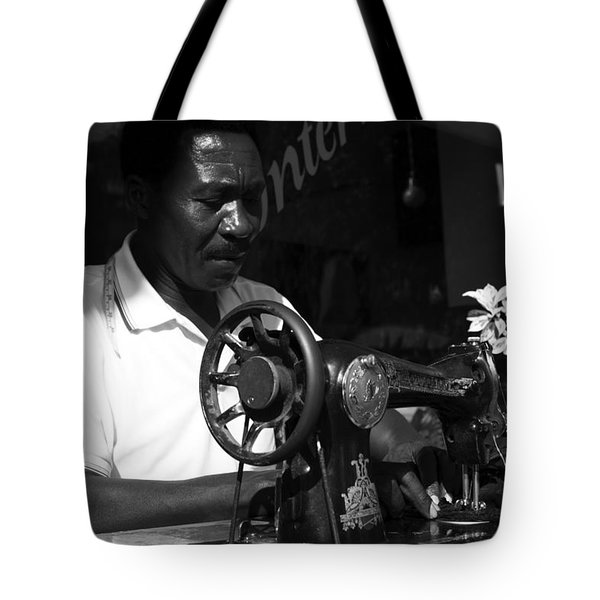 The Tailor - Tanzania Tote Bag by Aidan Moran