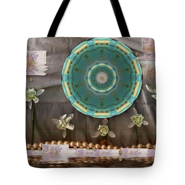 the temple of mammon Tote Bag by Pepita Selles