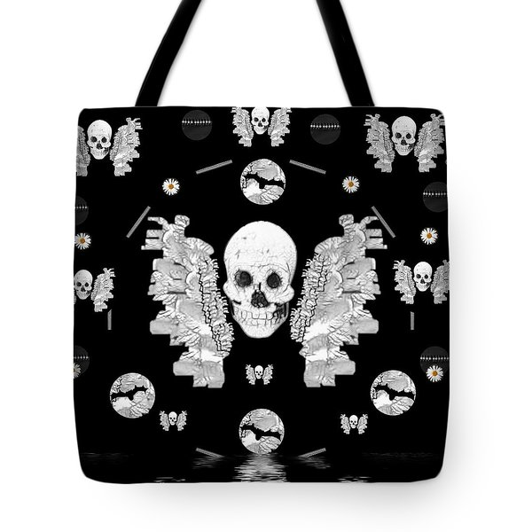 The Temple Of Skulls Tote Bag by Pepita Selles