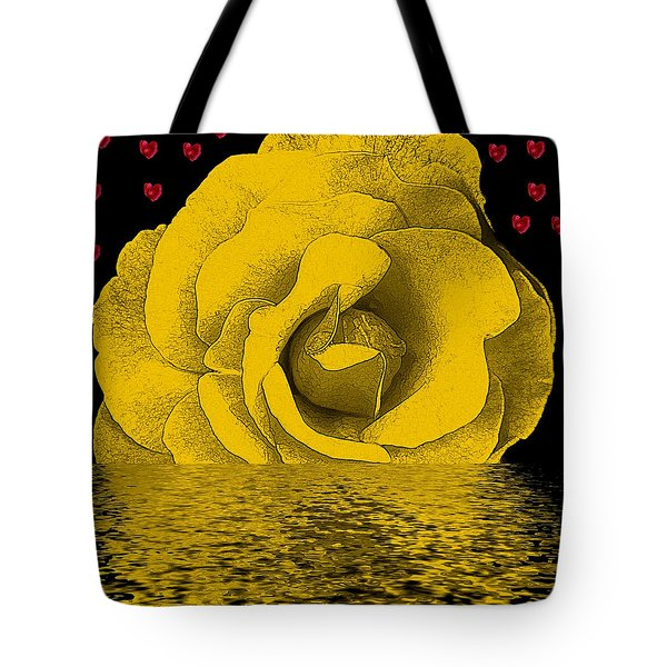 The Temple Of The Hearts Tote Bag by Pepita Selles