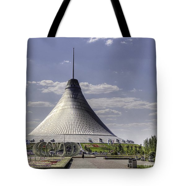 The Tent Tote Bag by Emily Kay