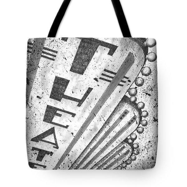 The Theater Tote Bag by Adam Zebediah Joseph