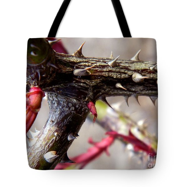 The Thorns Of Life Tote Bag by Andrea Anderegg