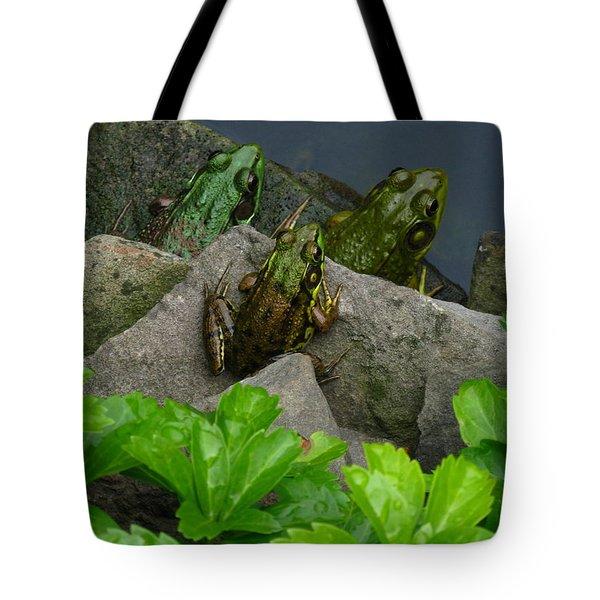 The Three Amigos Tote Bag by Raymond Salani III