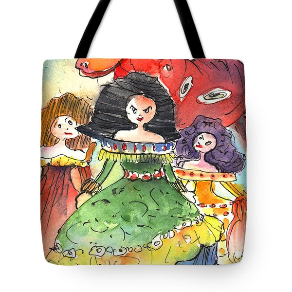 The Three Graces from Lanzarote and The Red Bull Tote Bag by Miki De Goodaboom