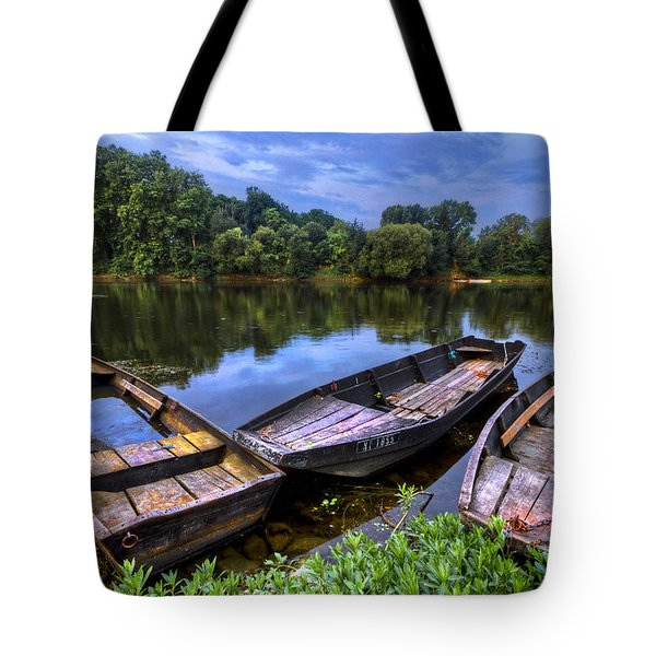 The Three Musketeers Tote Bag by Debra and Dave Vanderlaan