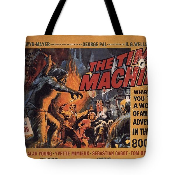 The Time Machine  Tote Bag by Movie Poster Prints