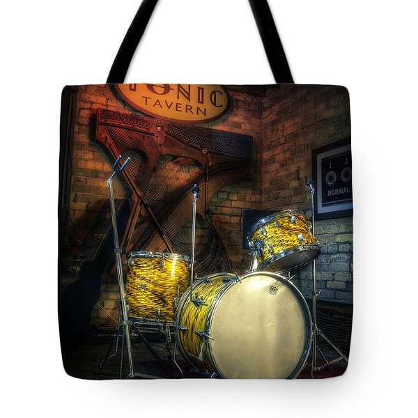 The Tonic Tavern Tote Bag by Scott Norris