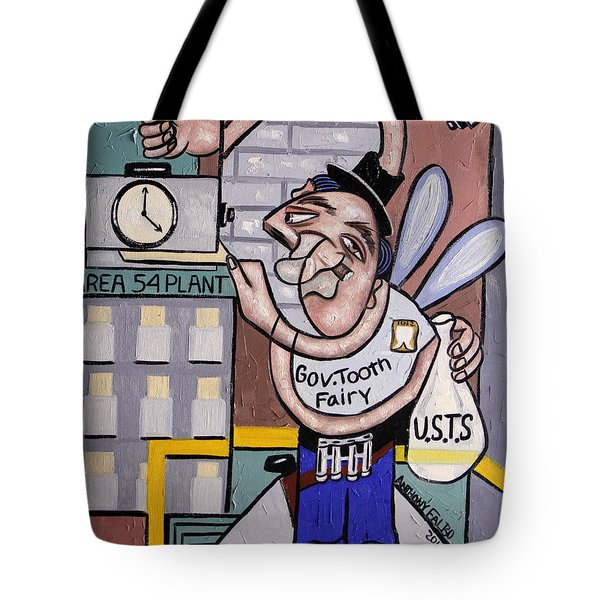 The Tooth Fairy Tote Bag by Anthony Falbo