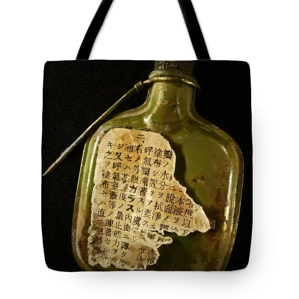 The Torn Message Tote Bag by Steve Taylor