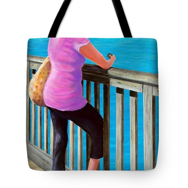 The Tourist Tote Bag by Susan DeLain